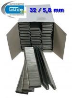 Agrafe 32 mm - 5,8 mm - 2500 pièces - pour cloueuses G40220 + G40402