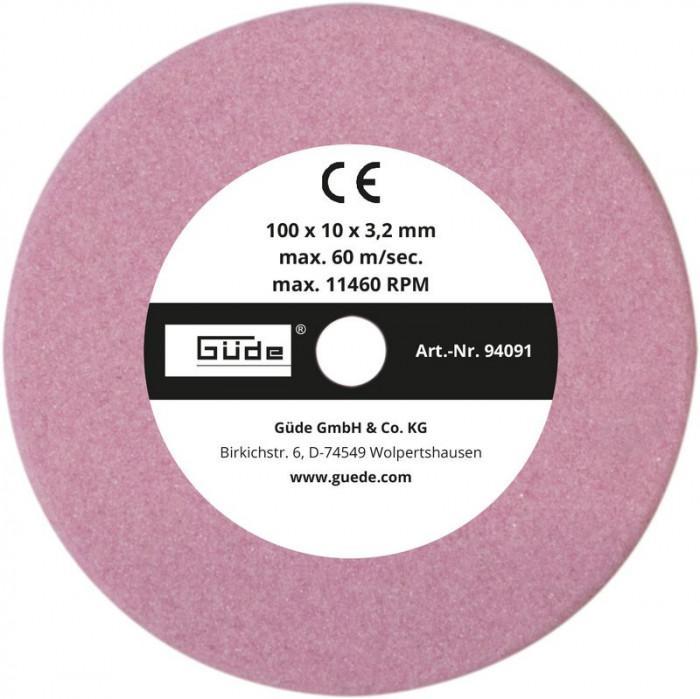 Disque affûteur 100 x 10 x 3,2 mm - pour affûteuse G94090