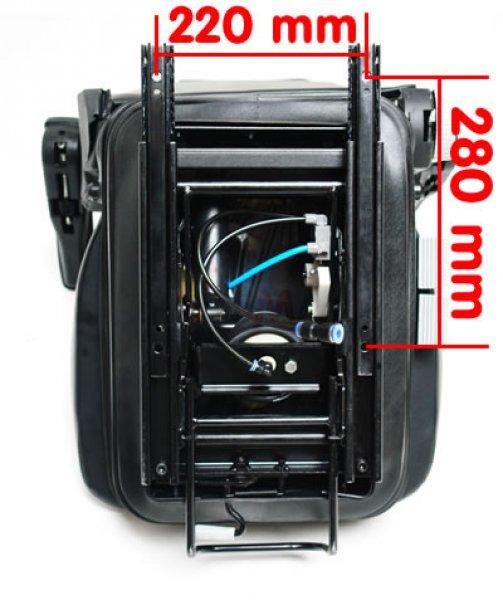 Siège de tracteur avec accoudoirs et suspensions YQ30 - TS160AKL