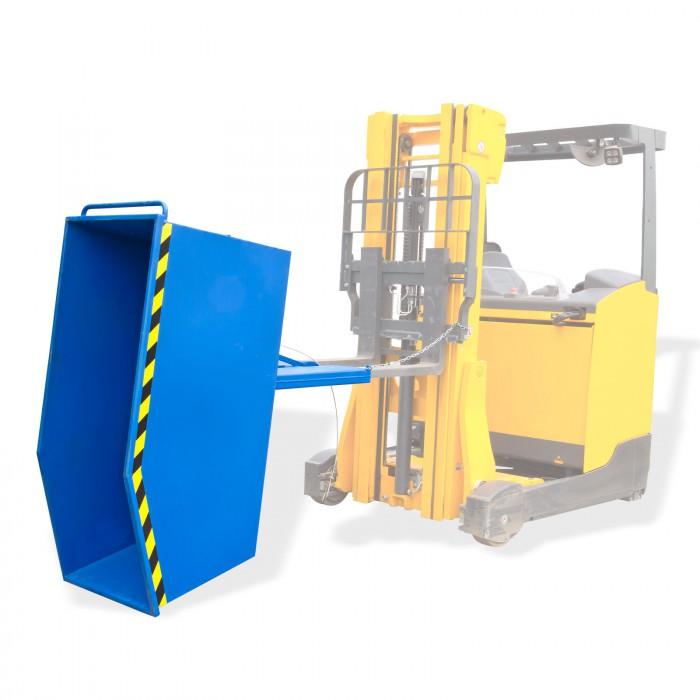 Benne basculante pour chariot élévateur - 900 kg