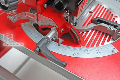 Scie table à onglets diamètre 250 mm