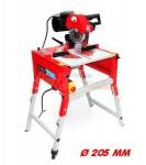 Scie radiale réversible - scie table - Ø lame 205 mm