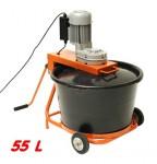 Malaxeur à mortier 55 litres