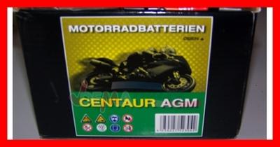 Batterie AGM 12 V 6AH - YTX 7LBS - Moto scooter PACK ACIDE