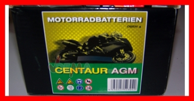 "Batterie MS  ""CB9-B 12""12 V 9AH - Moto scooter PACK ACIDE"