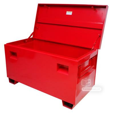 coffre de chantier acier verrouillable 420 litres. Black Bedroom Furniture Sets. Home Design Ideas