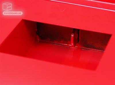Coffre de chantier ACIER verrouillable - 420 Litres