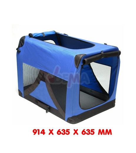 Niche de transport chien - chat - XXL - 910 x 630 x 630  mm