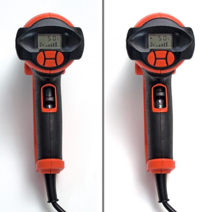 Décapeur thermique 2000 W - Ecran LCD - avec accessoires