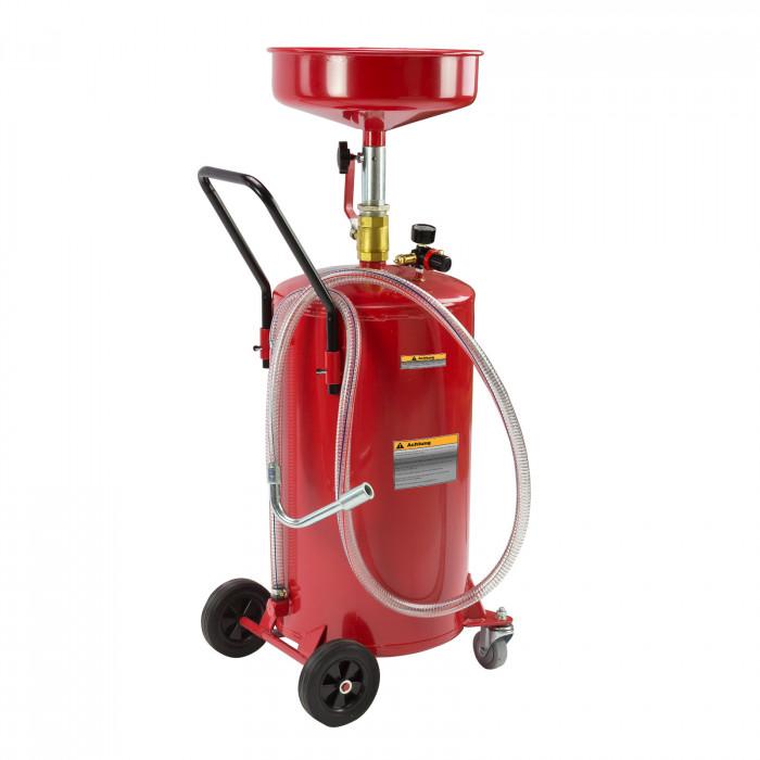 Récupérateur huile de vidange mobile - 60 litres