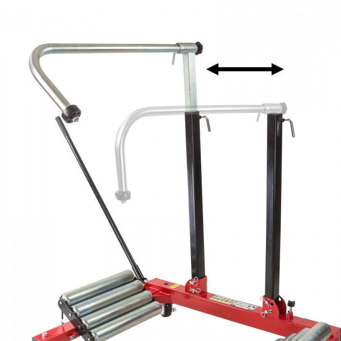Chariot de montage de roues XXL - Charge maxi 1200 kg