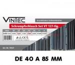 Manchons gaine thermo-rétractable 40 à 85 mm en coffret 127 pièces
