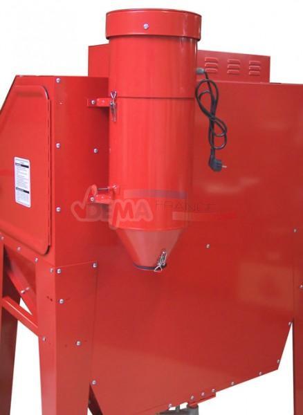 SET - Compresseur GÜDE bi-cylindre 230 V + Cabine de sablage 340 L