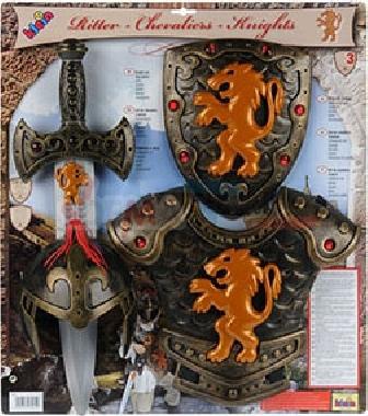Panoplie accessoires de Chevalier - 4 pièces THEO KLEIN