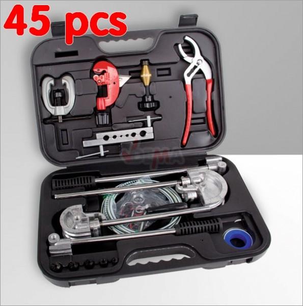 Ensemble outils pour plombier - 45 pièces - plomberie construction