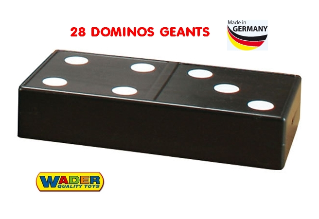 "Jumbo Domino - Intérieur/Extérieur  ""Made in Germany"""