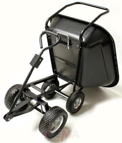 Remorque benne basculante XXL - 140 L - Chariot de jardin