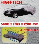 Bâche Garage Auto - Haute Technologie 4 couches - Long 5330 mm