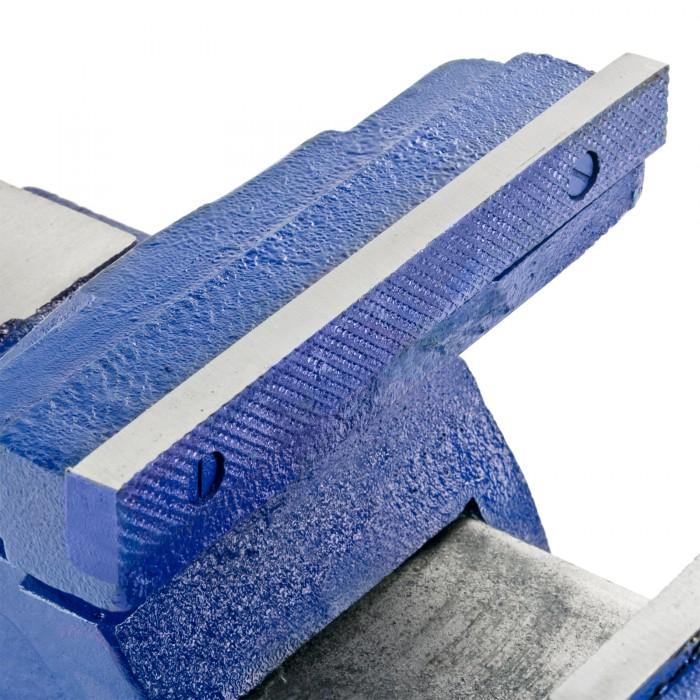 Etau lourd professionnel - Machoires 200 mm acier massif