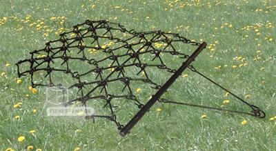 Herse de prairie - Scarificateur montage universel - 1220 mm