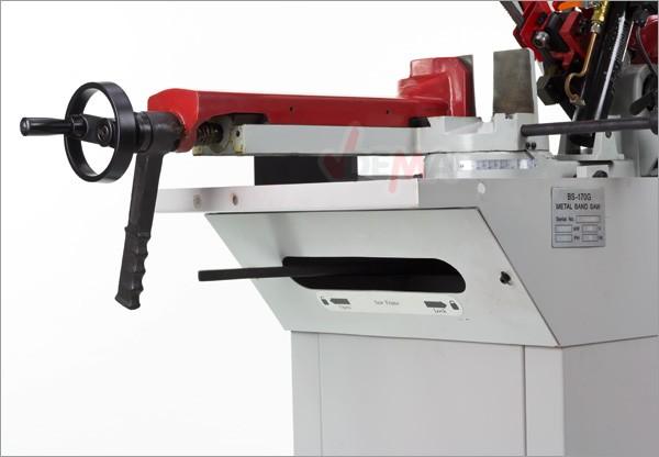 Scie à bande pour métaux  1300 W - 400 V - MBS 200/170