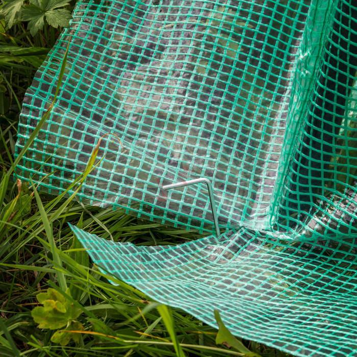 Serre de jardin- 5 m² - bâche plastique renforcée