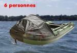 Bateau semi rigide - Catégorie C - 6 personnes - plancher alu