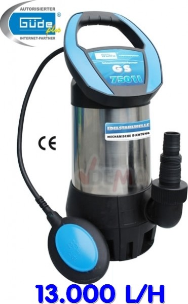 Pompe submersible eaux sales GS 7501 I