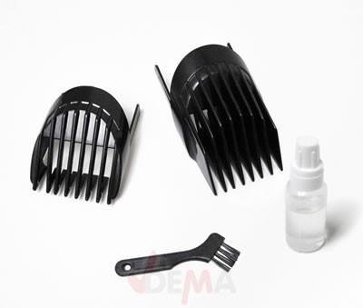 Tondeuse cheveux barbe sans fil rechargeable coupe 3 à 28 mm