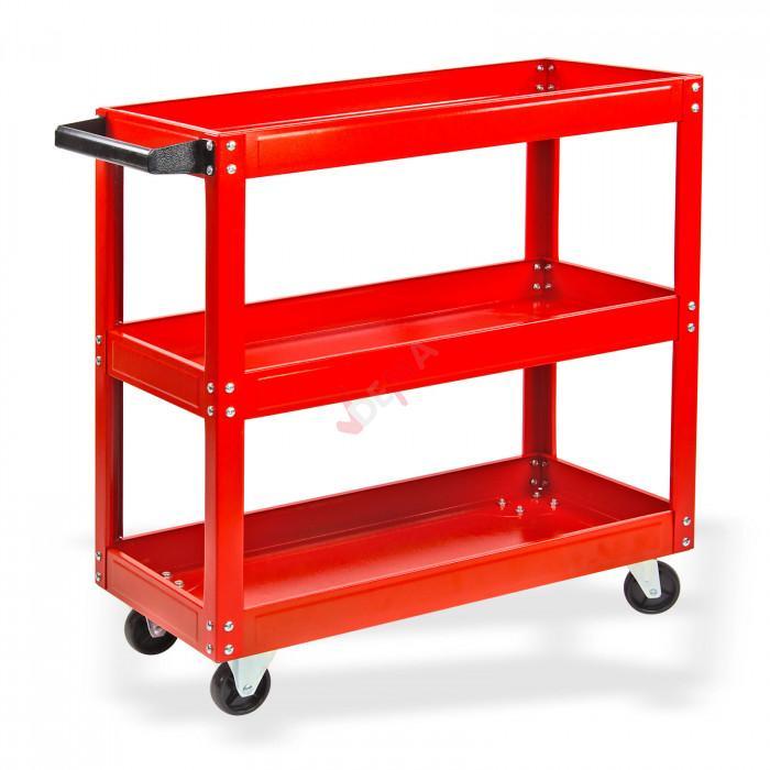Chariot de manutention - Chariot de montage - desserte - 3 étages