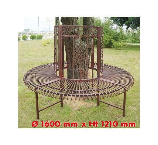 banc tour d 39 arbre sun diam 1600 mm jardin entretien. Black Bedroom Furniture Sets. Home Design Ideas
