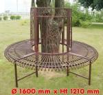 """Banc tour d'arbre """"SUN"""" - diam 1600 mm"""