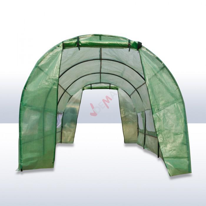 Serre de jardin tunnel 9 m2 - 4500 x 2000 x 1750 mm