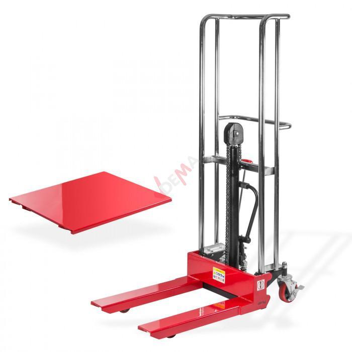 Chariot table élévatrice - Gerbeur manuel hydraulique PS145
