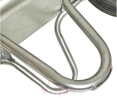 Brouette professionnelle 85 L galvanisée construction pneu Ø 380 mm