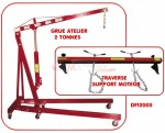 Set - Grue Atelier 2 T  - Traverse support moteur