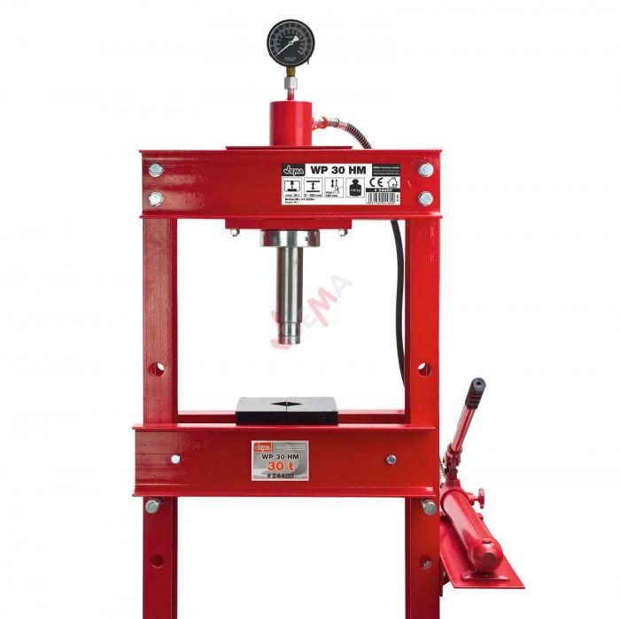 Presse d'atelier hydraulique 30 TONNES - WP 30 HM
