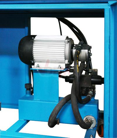 Presse à cartons-papiers DUO 4 T - 230 V - KP4
