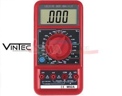 VINTEC - Multimètre numérique LCD - Voltmètre ACDC - Qualité PRO