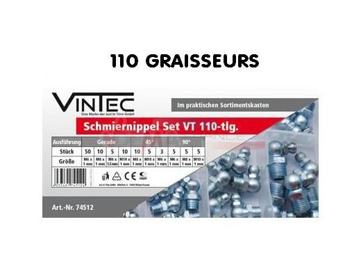 Assortiment graisseur set VT110 - VINTEC
