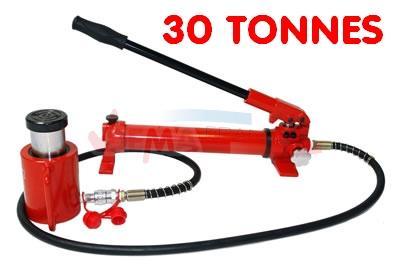 Verin hydraulique 30 Tonnes avec pompe