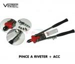 Pince à riveter professionnelle + accessoires - HZ 46 VINTEC