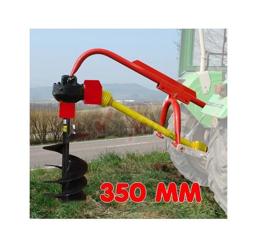 """Tarière 3 points - 350 mm (14"""") pour tracteur"""