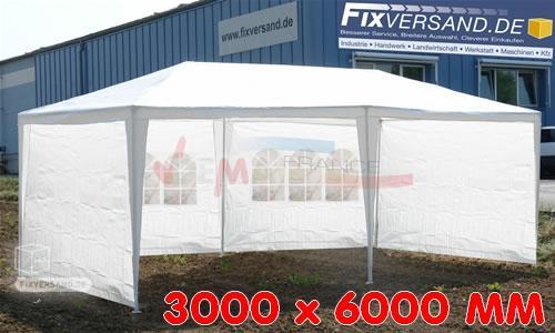 Pavillon Party - Tente de réception - Imperméable à l'eau - 3 m x 6