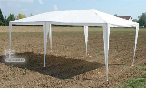Pavillon Party - Tente de réception - Imperméable à l'eau - 3 m x 6