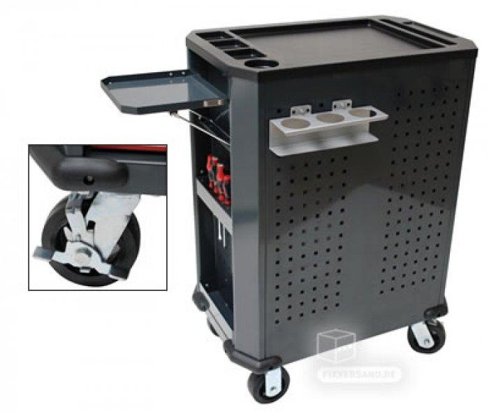 Nouvelle servante équipée - 8 tiroirs - 177 outils