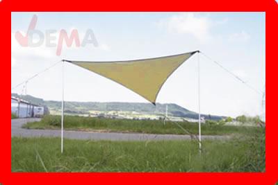 Parasol - Auvent - 3,6 x 3,6 mètres - beige