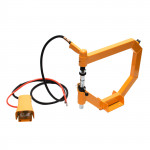 Pilonneur pneumatique à tôle + acc raccord 1/4 pression 6,5 bar maxi