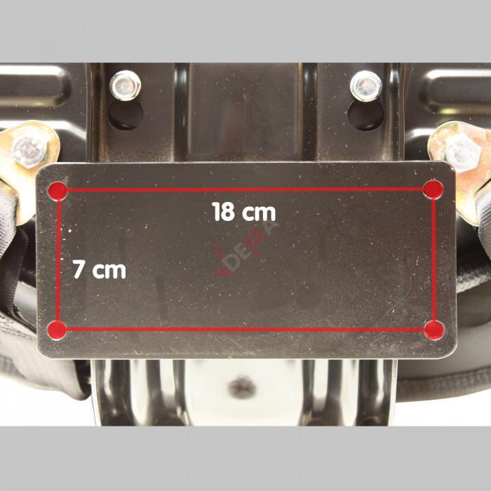 Siège de chariot élévateur ST001 - avec ceinture de sécurité