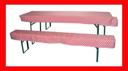 Pads pour table et banc de jardin larg 700